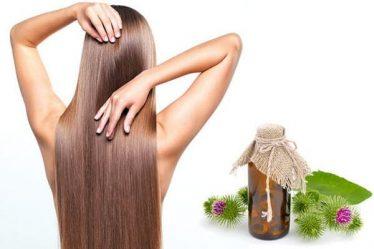 корени от репей за коса