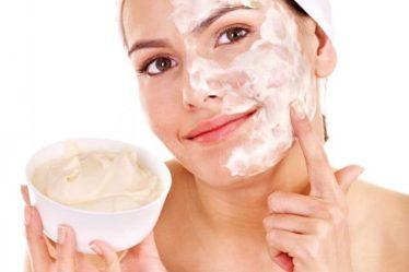 домашни маски за лице с белтък