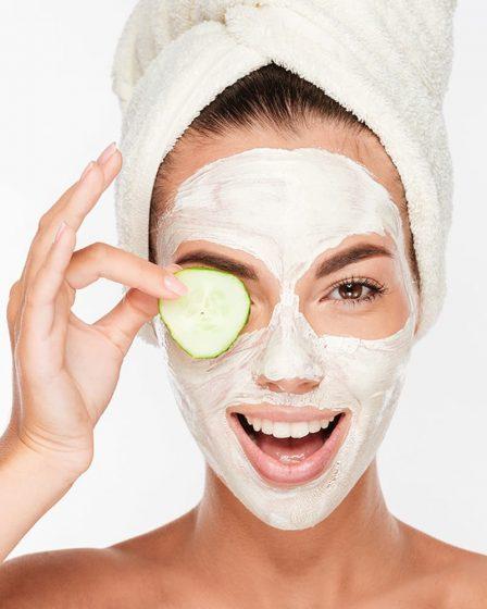 маски за лице с кисело мляко